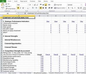 competitive analysis example template excel tmp With competitor analysis template xls