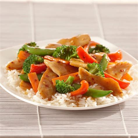 chicken stir fry recipes vegetable and chicken stir fry recipe mccormick