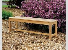 Outdoor Wood Bench Plans Home Design Ideas