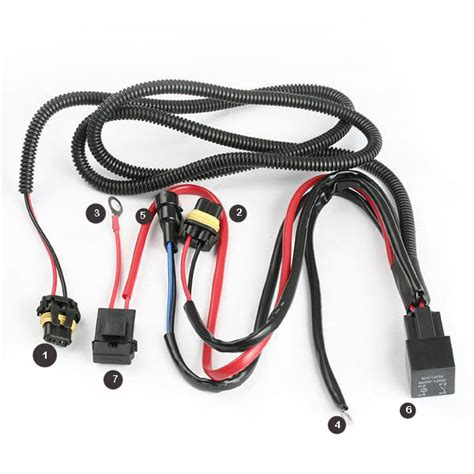 Wiring Harnes Hook Up by How To Hook Up A Relay Harness To Your Hid Lights 8th