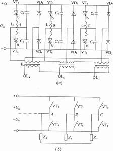 Three Phase Bridge Type Inverter Circuit Diagram