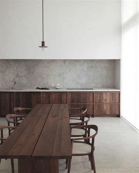 cuisine bois beton awesome intrieurs modernes cuisine beton meubles bois with