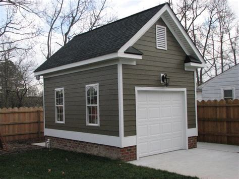 Detached Single Car Garage With