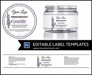 Jar Label Template Id11