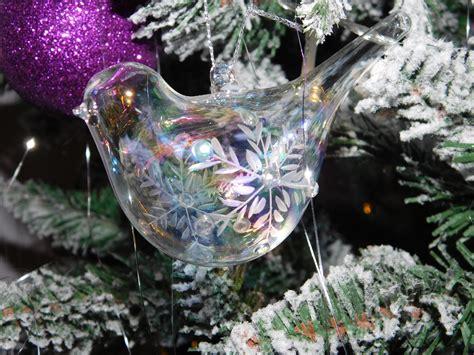 clear glass bird christmas decor  image peakpx
