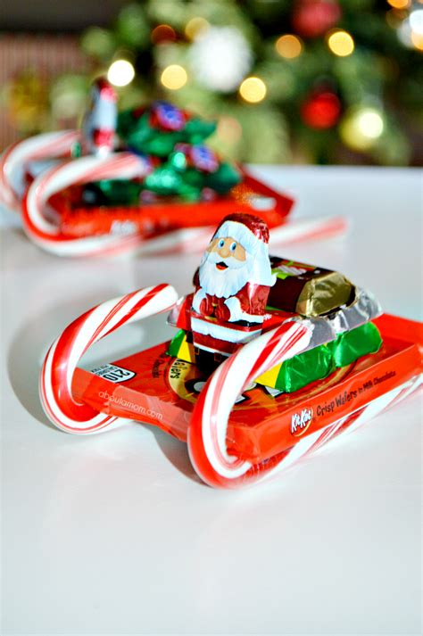 candy cane skeigh xmas craft how to make sleighs about a
