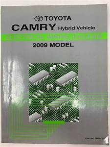 2009 Toyota Camry Hybrid Vehicle Electrical Wiring Diagram