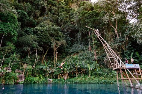 Blue Lagoon Vang Vieng Day Trip Journey Era