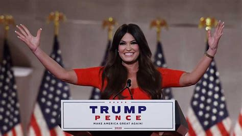 guilfoyle rnc trump kimberly speech president convention republican olivier douliery passionate endorsing gives louisiana orleans mellon auditorium speaks getty landfall