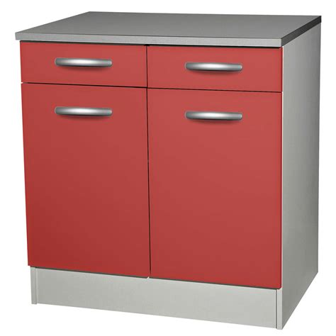 meuble bas de cuisine avec porte et tiroir