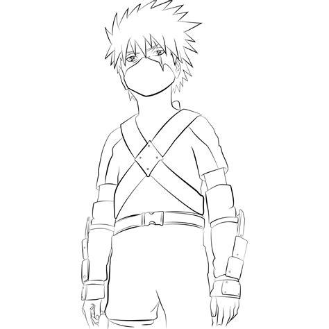Naruto Para Colorear, Pintar E Imprimir
