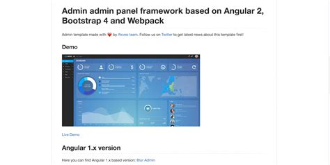 bootstrap 4 webpack templates top 15 angular libraries which every developer should know