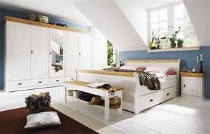Neapel Schlafzimmer Kiefer massiv Kiefern Möbel