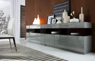 Extra Long Dining Room Table by Daytona Modern Grey Gloss Buffet