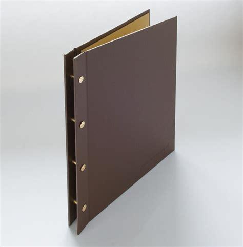 Resume Binder by Fabric Covered Exposed Post Portfolio Binder