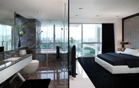 chambre avec salle de bain ouverte et dressing chambre avec salle de bain ouverte et dressing kirafes