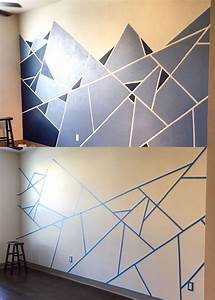 25 best ideas about painters tape design on pinterest With kitchen cabinets lowes with large abstract wall art canvas