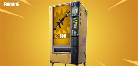 Fortnite Br Gets Vending Machines