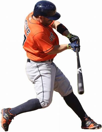 Player Baseball Clipart Mlb Transparent Astros Houston