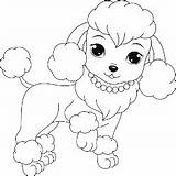 Coloring Poodle Pages Dog Printable Colouring Puppy Puppies Dogs Sheets Drawing Poodles Buzzle Adult Template Cartoon Children Breeds Few Books sketch template