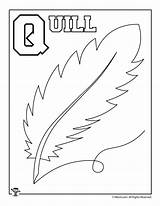 Coloring Alphabet Letter Pages Crafts Quill Letters Worksheets Printable Activities Whole Woo Jr Woojr sketch template
