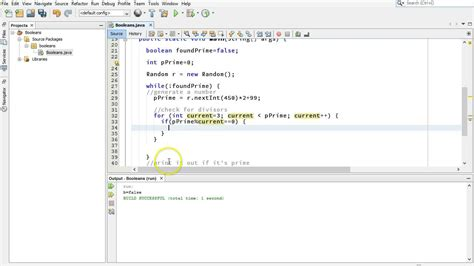 booleans  generating prime numbers  java youtube