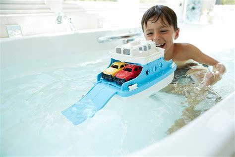 Green Toys Ferry Boat by Green Toys Ferry Boat With Mini Cars Bathtub Best