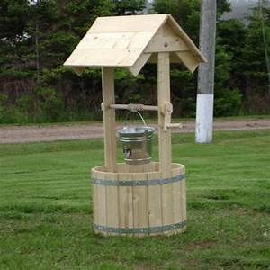 How to build a wooden wishing well