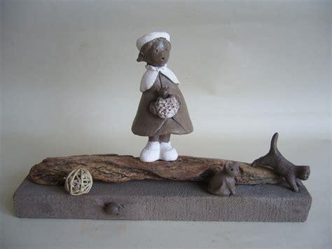 histoire de petite fille de chats et de souris sculpture