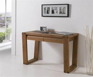 Meuble De Maison : meuble de bureau en bois bureau en verre avec rangement lepolyglotte ~ Teatrodelosmanantiales.com Idées de Décoration