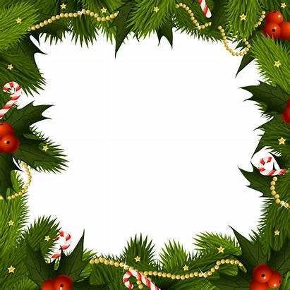 Border Christmas Wallpapers Frame Transparent Cave