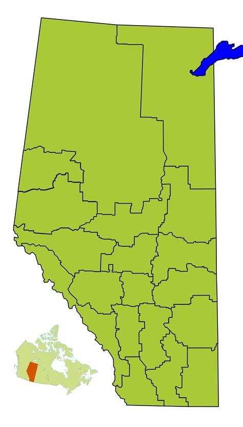List Census Divisions Alberta Wikipedia