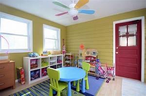 24 idees decoration de salles de jeux pour enfants With amenagement salle de jeux