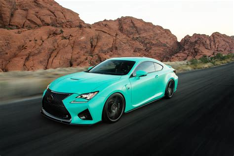 ra  matte mint lexus rc  orafol vehicle wraps