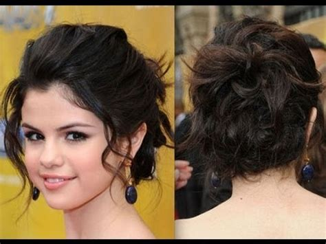 Selena Gomez Updo Hairstyles by Hair Styles Easy To Do Twist Updo And Ootd How