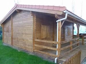 Chalet En Bois Habitable D Occasion : chalet habitable de 48 m une terrasse de 16 m en bois ~ Melissatoandfro.com Idées de Décoration
