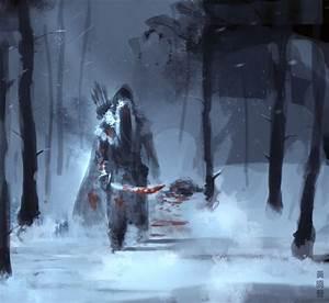Winter Warrior speedpainting by XiaTaptara on DeviantArt