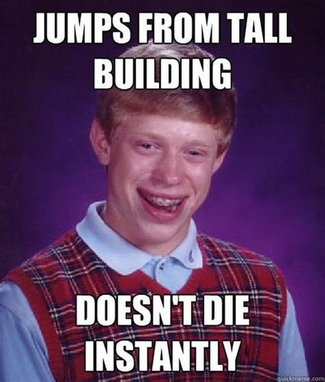 Bad Luck Brian Meme - bad luck brian barnorama