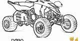 Coloring Wheeler Atv sketch template