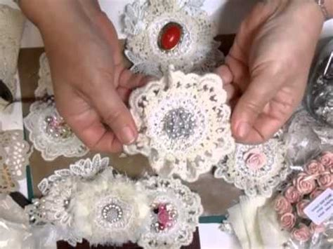 how to make shabby chic flowers out of fabric amazing handmade shabby chic flowers jennings644 youtube