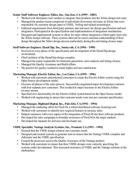 Howard Gebb Resume