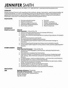 analytical chemist resume example analytical chemist With chemist cv template