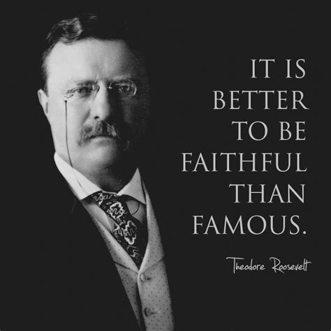 It Is Better To Be Faithful Than Famous Sermonquotes