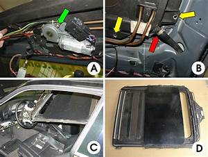 Bmw E36 3-series Sunroof Removal And Repair  1992