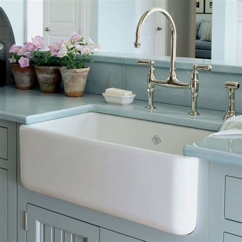 farmhouse sink with garbage disposal designed to withstand heavy use the lancaster fireclay