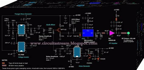 Circuit Diagram Gsm Mobile Signal Booster