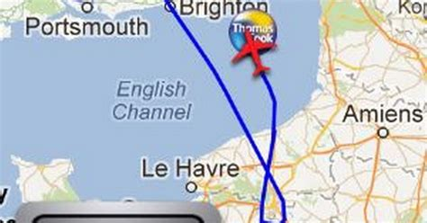Mid-air drama: Thomas Cook flight from Manchester to ...