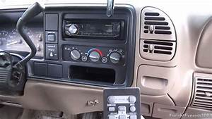 Current Audio Setup For The 1997 Gmc Sierra Z71