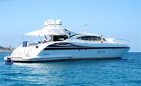 AMAZING Yacht Charter Details, Mangusta 108 ...