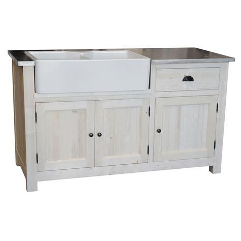 meuble de cuisine avec evier intégré le dépôt des docks